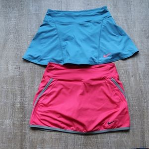 Nike Dry-Fit Exercise Skort Bundle Size Small